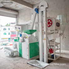 Sturdy design rice mill machine